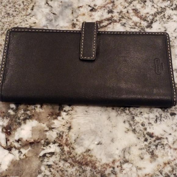 Coach Accessories - Coach check book holder